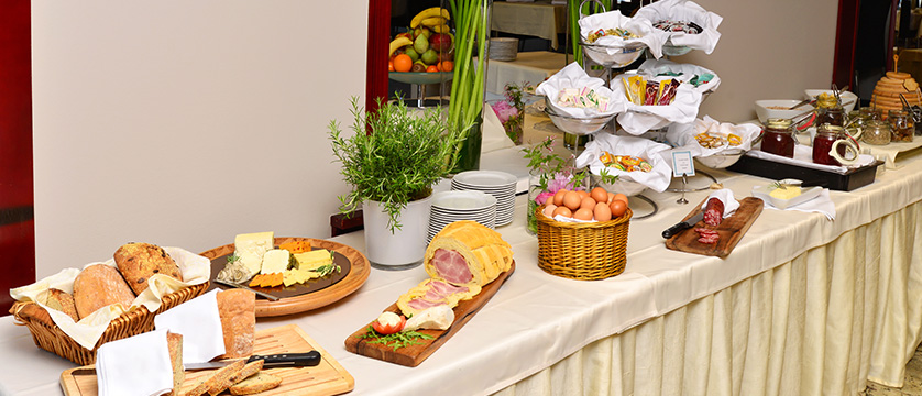 Hotel Kompas, Lake Bled, Slovenia - An example of the breakfast buffet 5.jpg